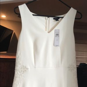 Ann Taylor White Dress NWT